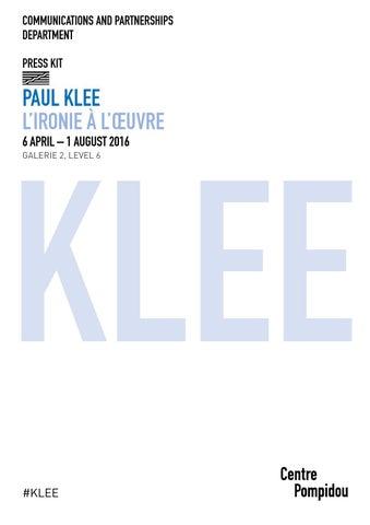 9dd64c682d4ad7 Paul Klee exhibition - Pompidou Centre - Paris by Jason Whittaker ...