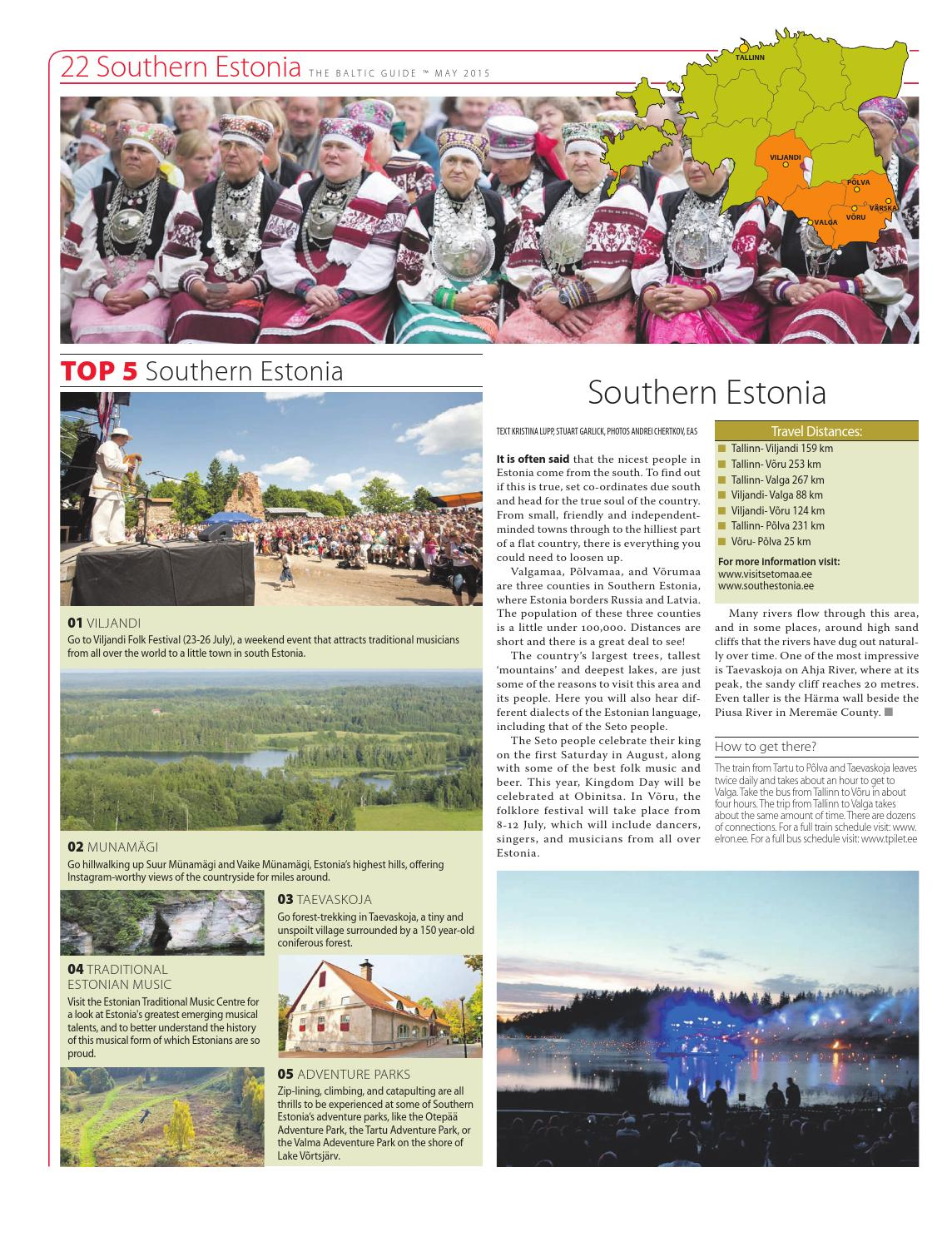 The Baltic Guide ENG May 2015 by The Baltic Guide - issuu