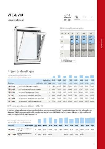 Velux productcatalogus 2016 by velux nederland b v issuu for Velux prezzi 2016