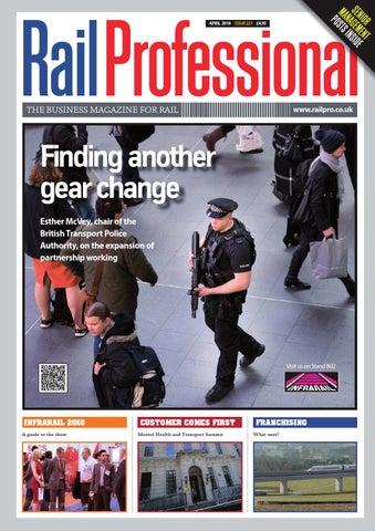 2f26a853f7f RAIL PROFESSIONAL APRIL 2016 by Rail Professional Magazine - issuu