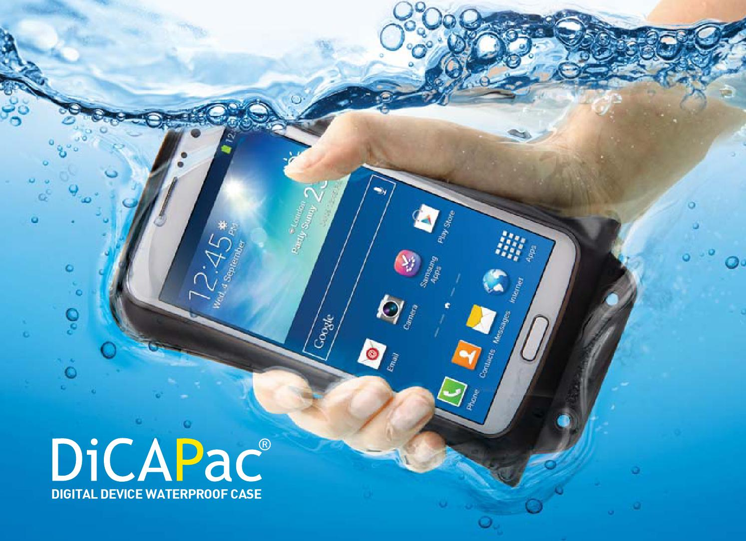 Dicapac Catalog 2015 16 By Reisemood Issuu Wp S10 Waterproof Case For Slr Dslr Cameras