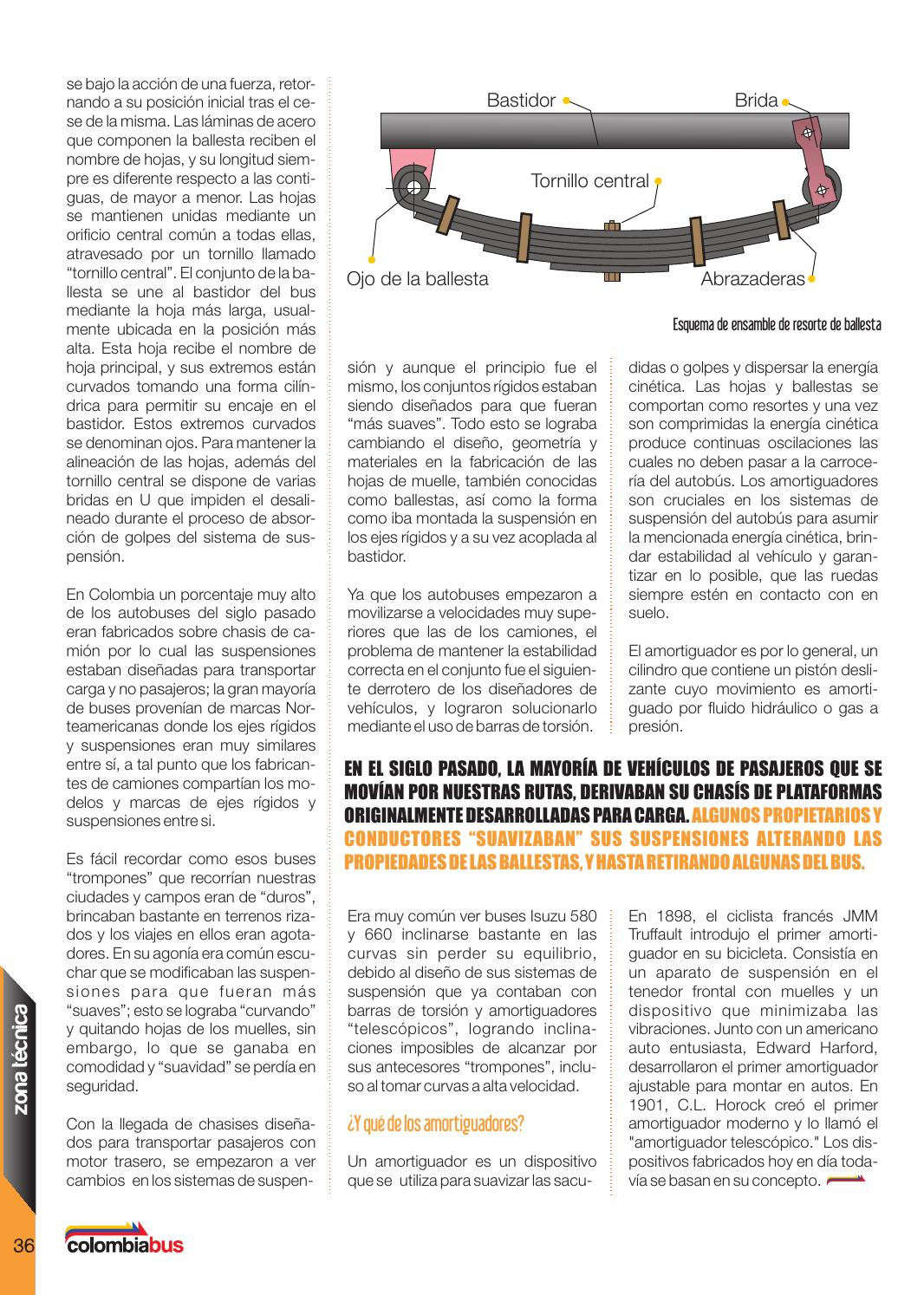 Revista Colombiabus marzo 2016 - Ed.4 by Colombiabus - issuu