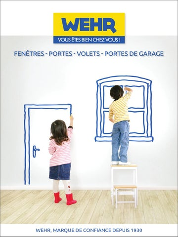 Wehr Catalogue 2016 Portes Fenetres Volets By Wehr Issuu