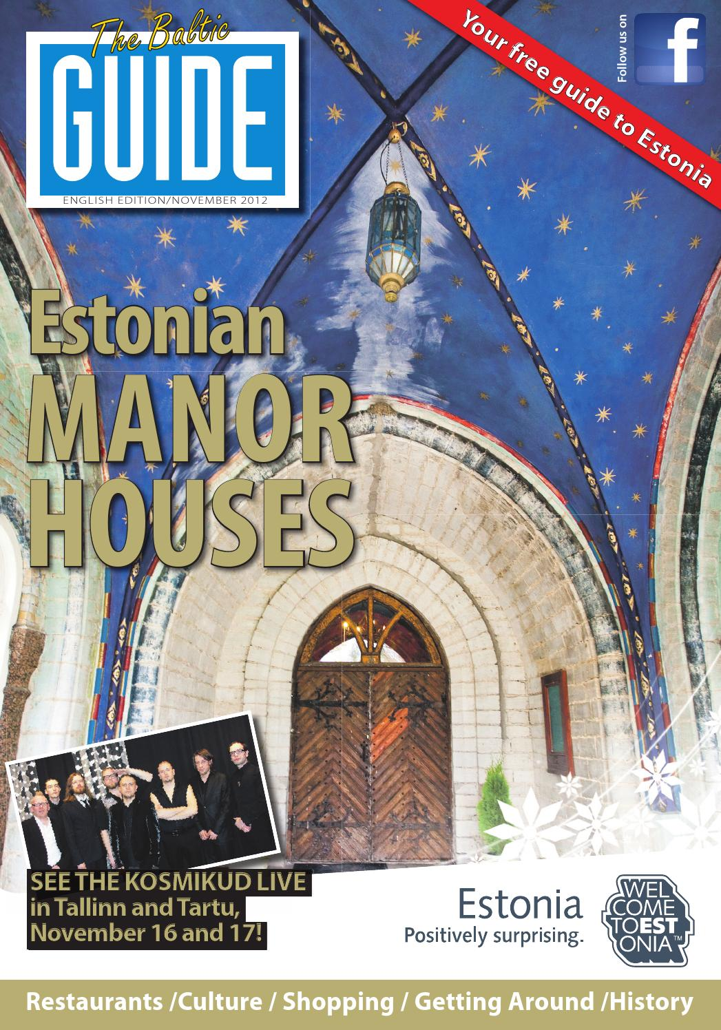 b1eef0dd597 The Baltic Guide ENG November 2012 by The Baltic Guide - issuu