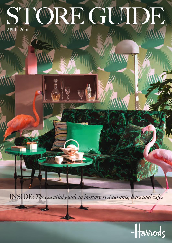 harrods store guide april 2016 by harrods online issuu. Black Bedroom Furniture Sets. Home Design Ideas