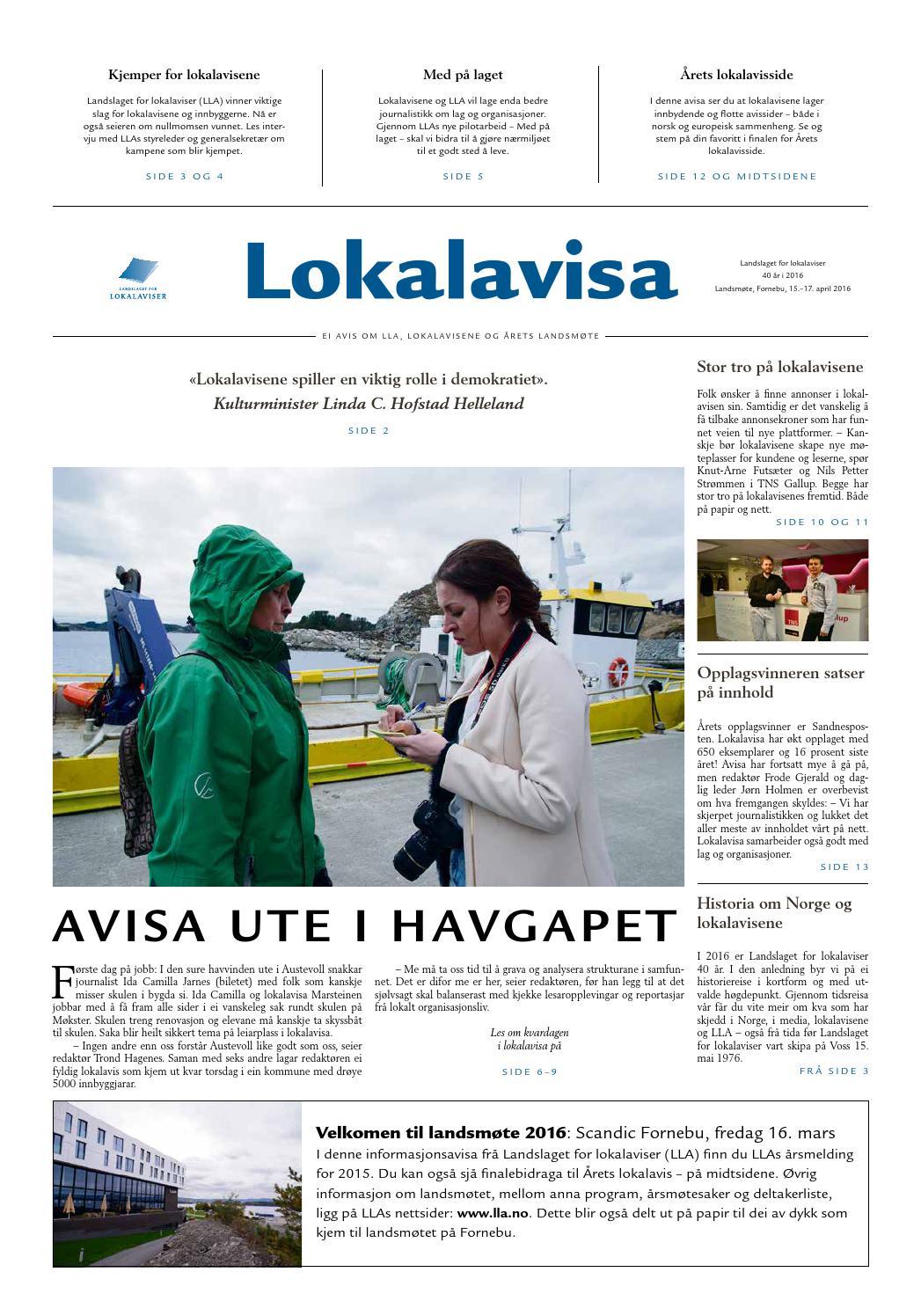 878109a8b Landslaget for lokalaviser by Landslaget for lokalaviser - issuu