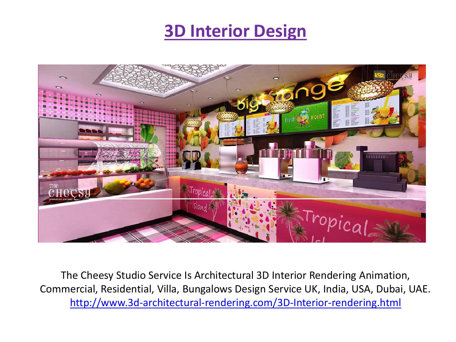 3d Interior Design By Architecture Animation   Issuu