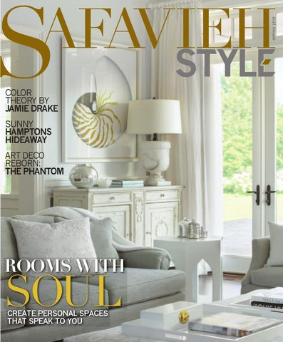 Safavieh Style: Spring 2016 By Wainscot Media   Issuu