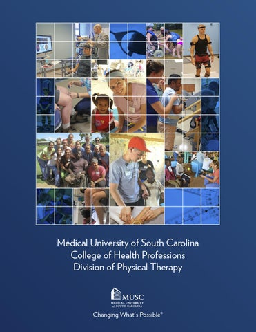 MUSC CHP | Physical Therapy brochure by musc chp - issuu