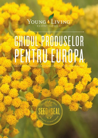 Young Living Europe Product Guide | RO by Young Living Essential ...