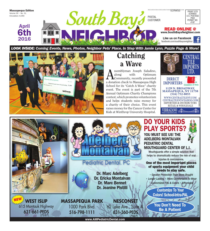 April 6 2016 Massapequa By South Bay S Neighbor Newspapers Issuu