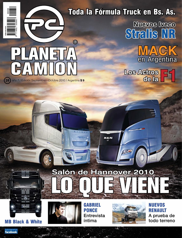 Planeta camión revista nº39 by Planeta Camión - issuu