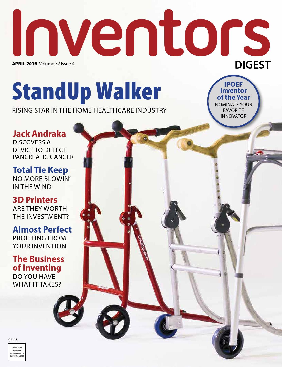 Inventors Digest April 2016 by Inventors Digest - issuu