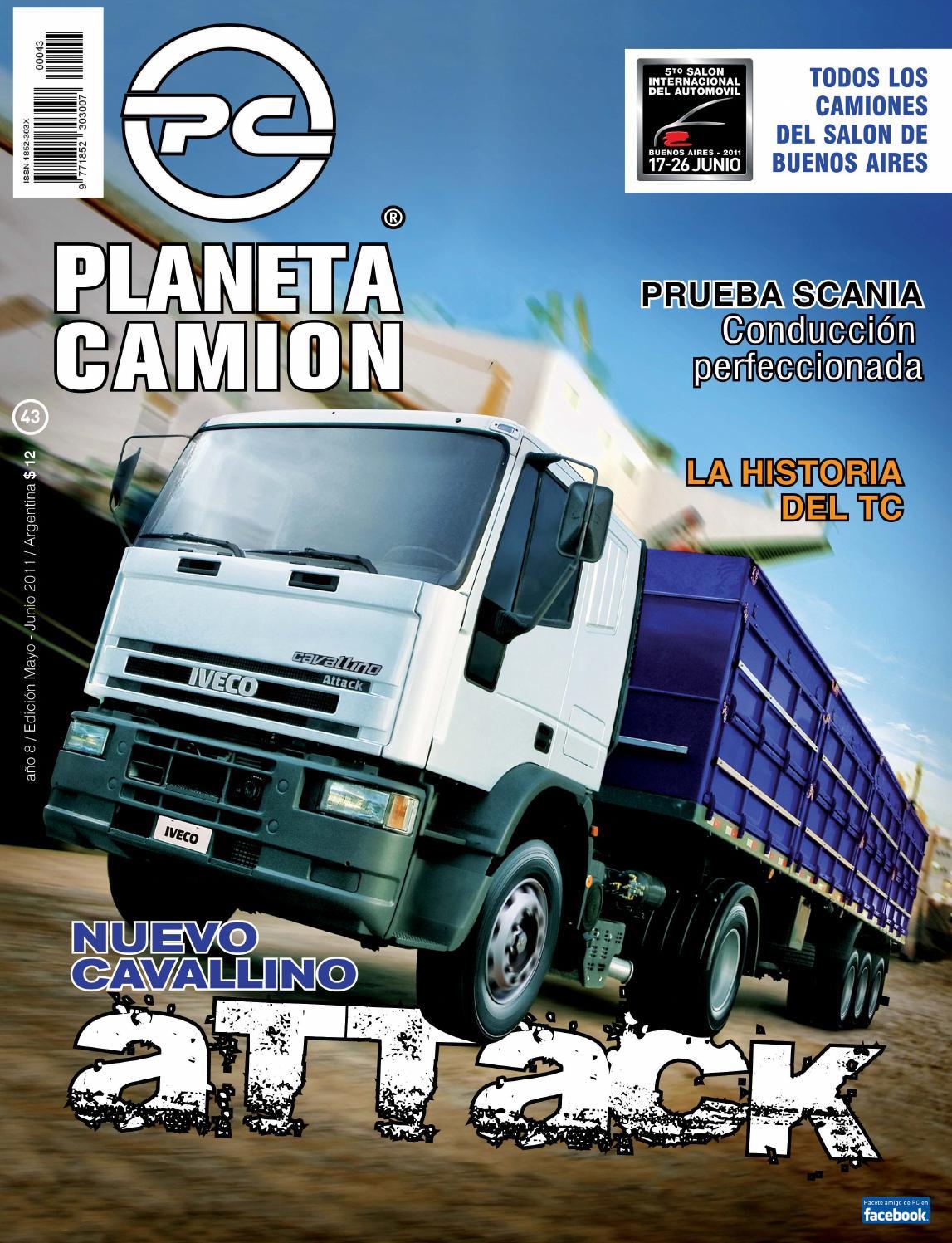 Planeta camión revista nº43 by Planeta Camión - issuu