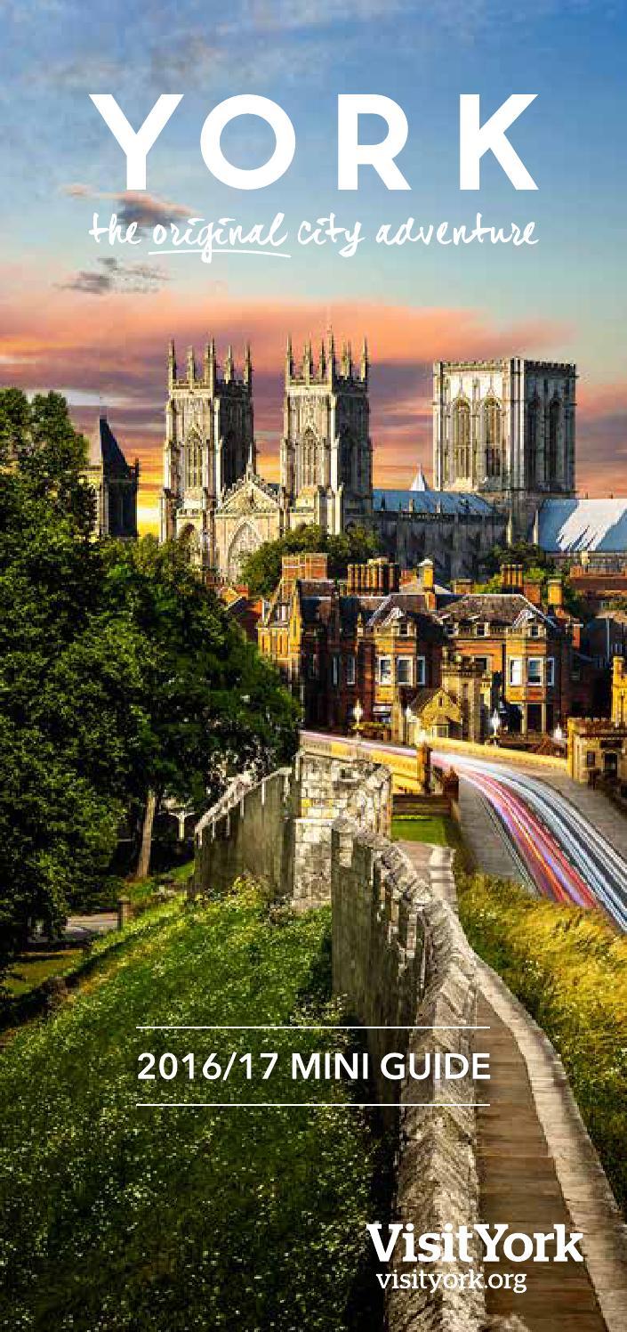 York Mini Guide 2016/17 by Visit York - Issuu