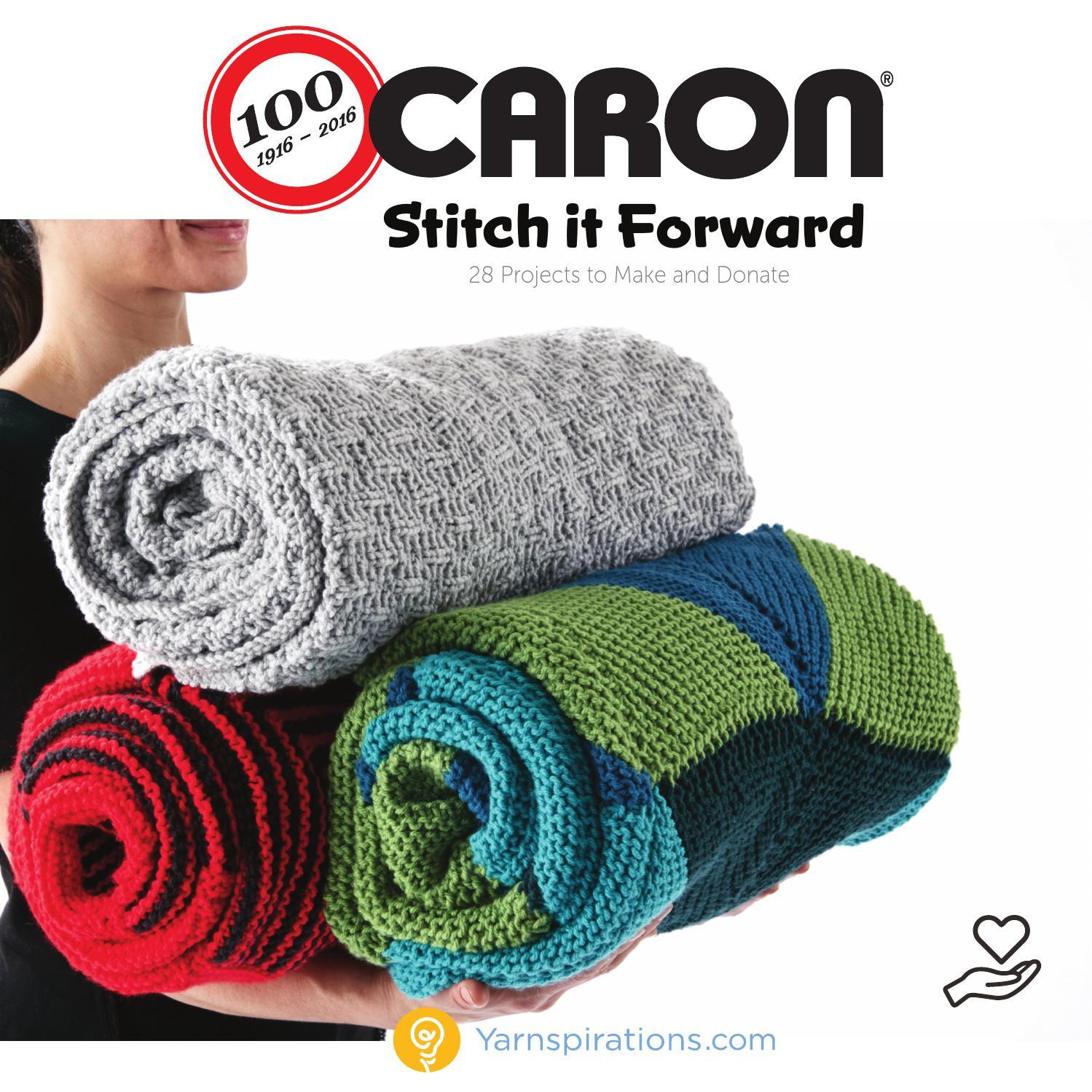 8cd4115c3 Stitch it Forward by Yarnspirations - issuu