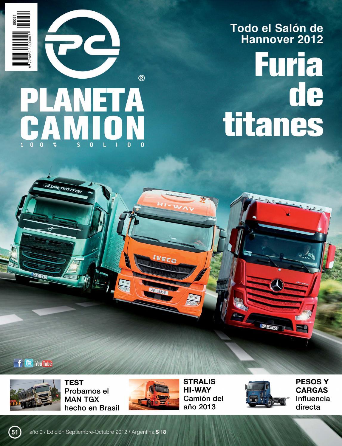 Planeta camión revista nº51 by Planeta Camión - issuu