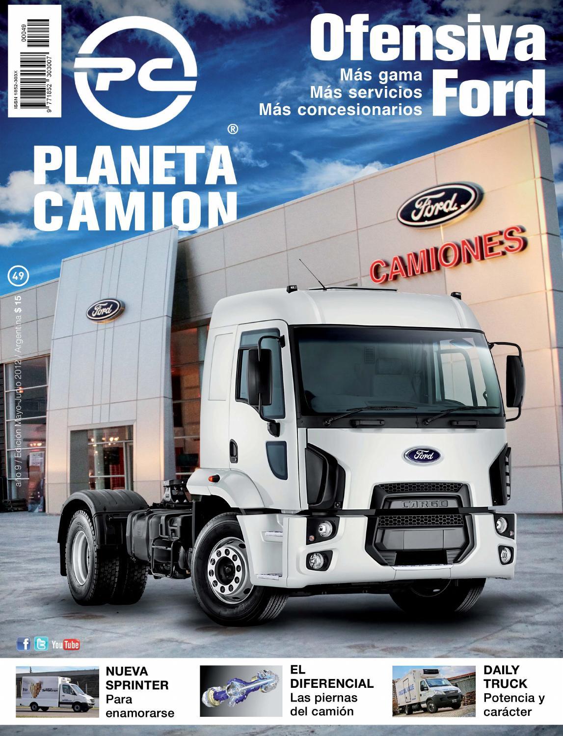 Planeta camión revista nº49 by Planeta Camión - issuu