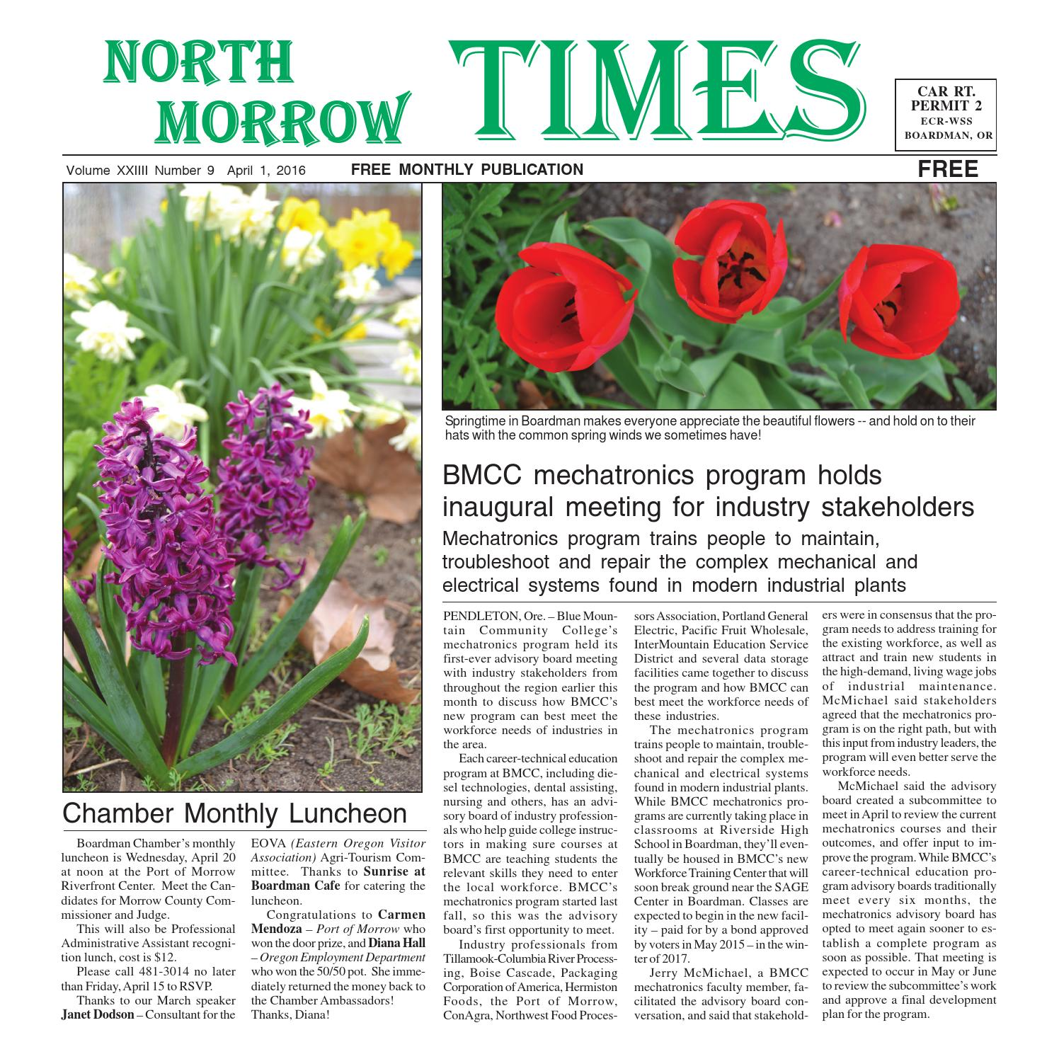 North Morrow Times April 2016 by North Morrow Times - issuu db8a726073c0