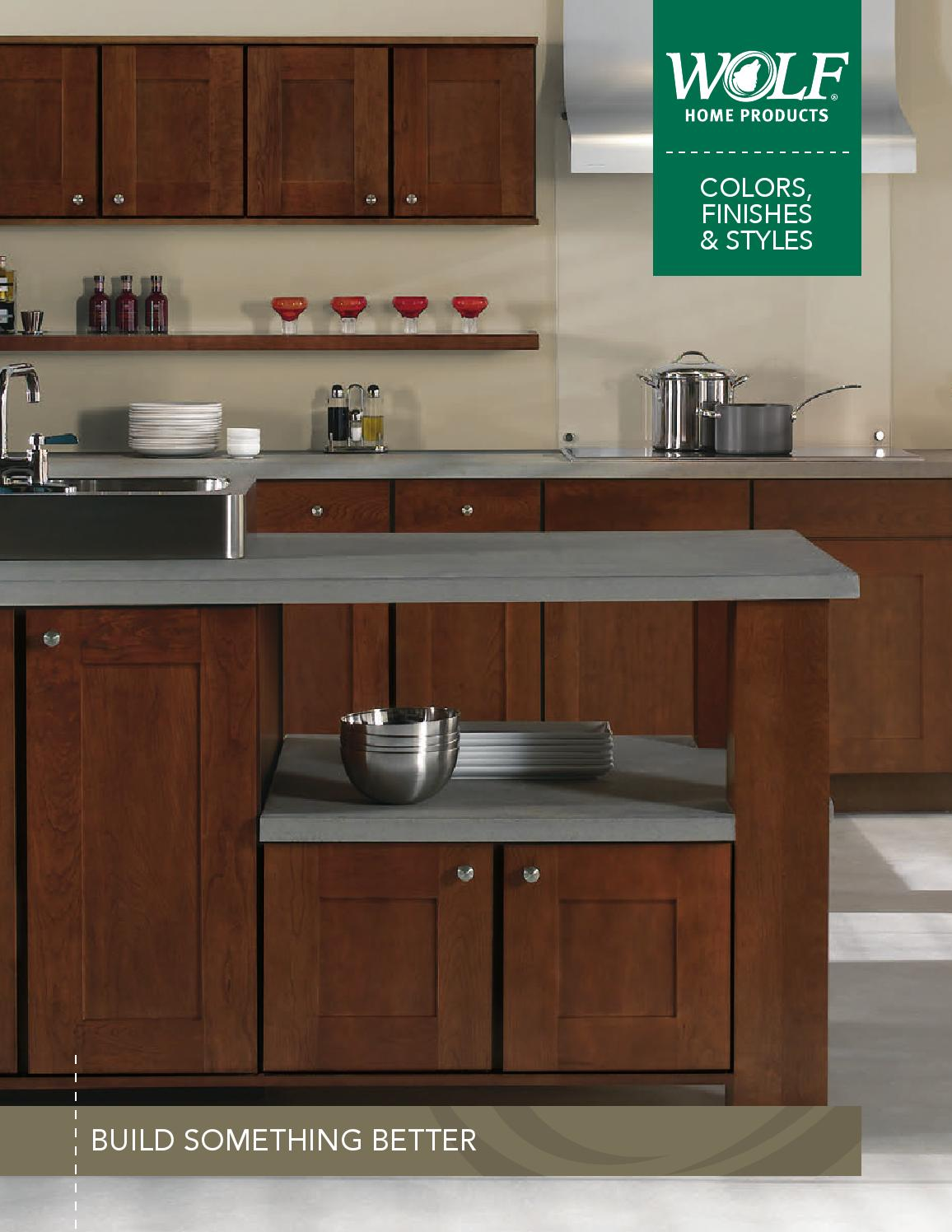 Magnificent Wolf Designer Cabinets Styles Colors Brochure 042115 V1 Download Free Architecture Designs Scobabritishbridgeorg