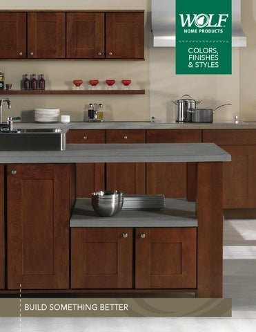 WOLF Designer Cabinets   Styles Colors Brochure 042115 V1 Tag By ...