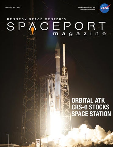 Spaceport Magazine – April 2016