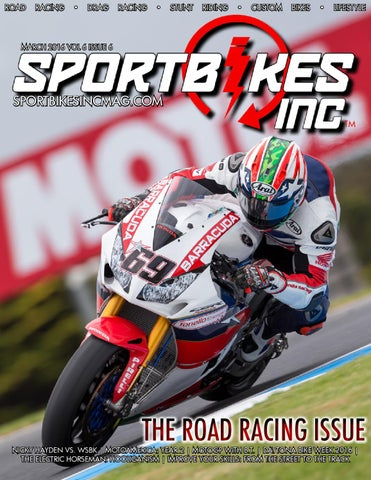 SportBikes Inc Magazine March 2016 By Hard Knocks Motorcycle ...