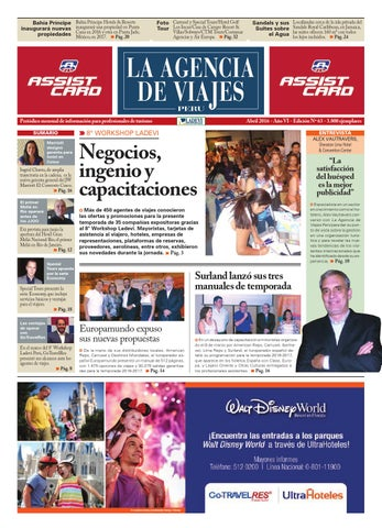 eb0a09c06f1c9 La Agencia de Viajes Perú N° 63 by Ladevi Media   Solutions - issuu