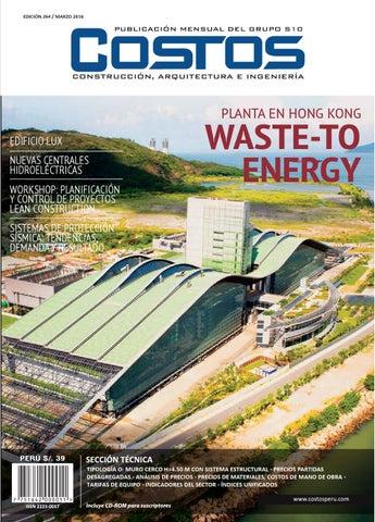 4c12e60ef Revista Ed. 264 marzo 2016 by COSTOS - issuu