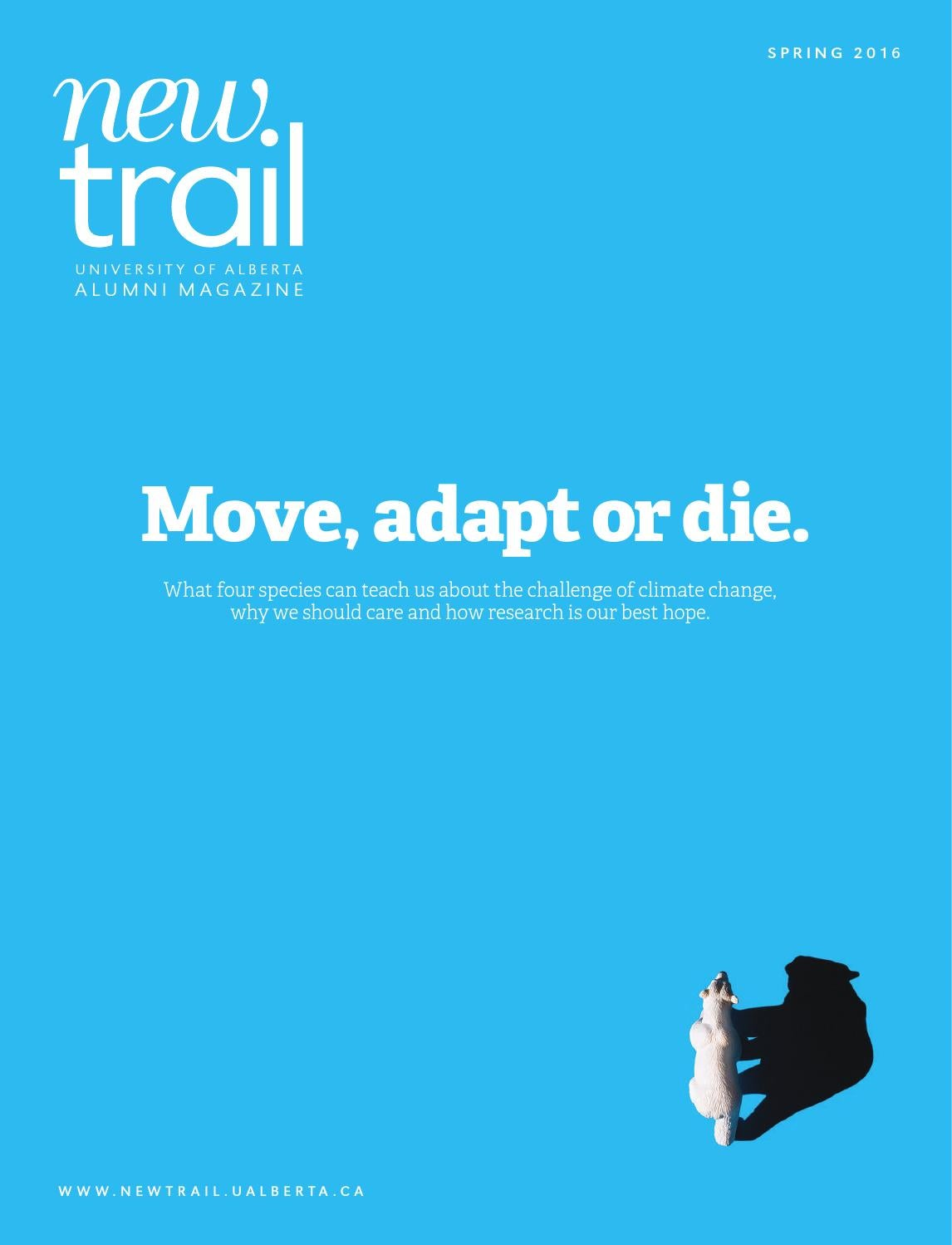 New trail spring 2016 by university of alberta alumni issuu fandeluxe Gallery