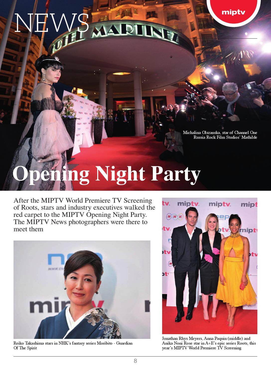 Miptv 2016 news 2 by MIPMarkets - issuu