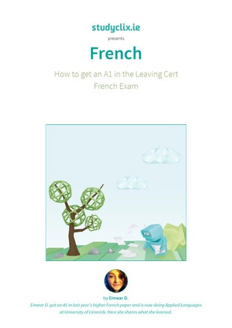 Rt radio 1 exam guide by leaving cert french issuu how to get an a1 in leaving cert french spiritdancerdesigns Images