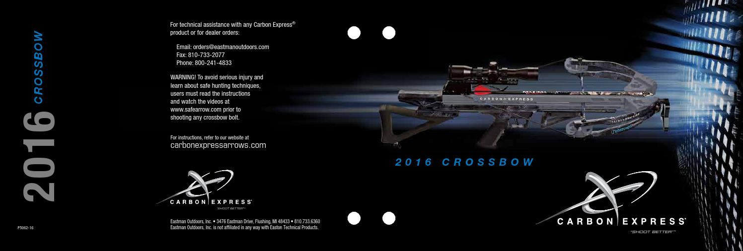 Carbon Express 58078 Red Launchpad A Crossbolt Lighted Crossbow Arrow Moon Nock