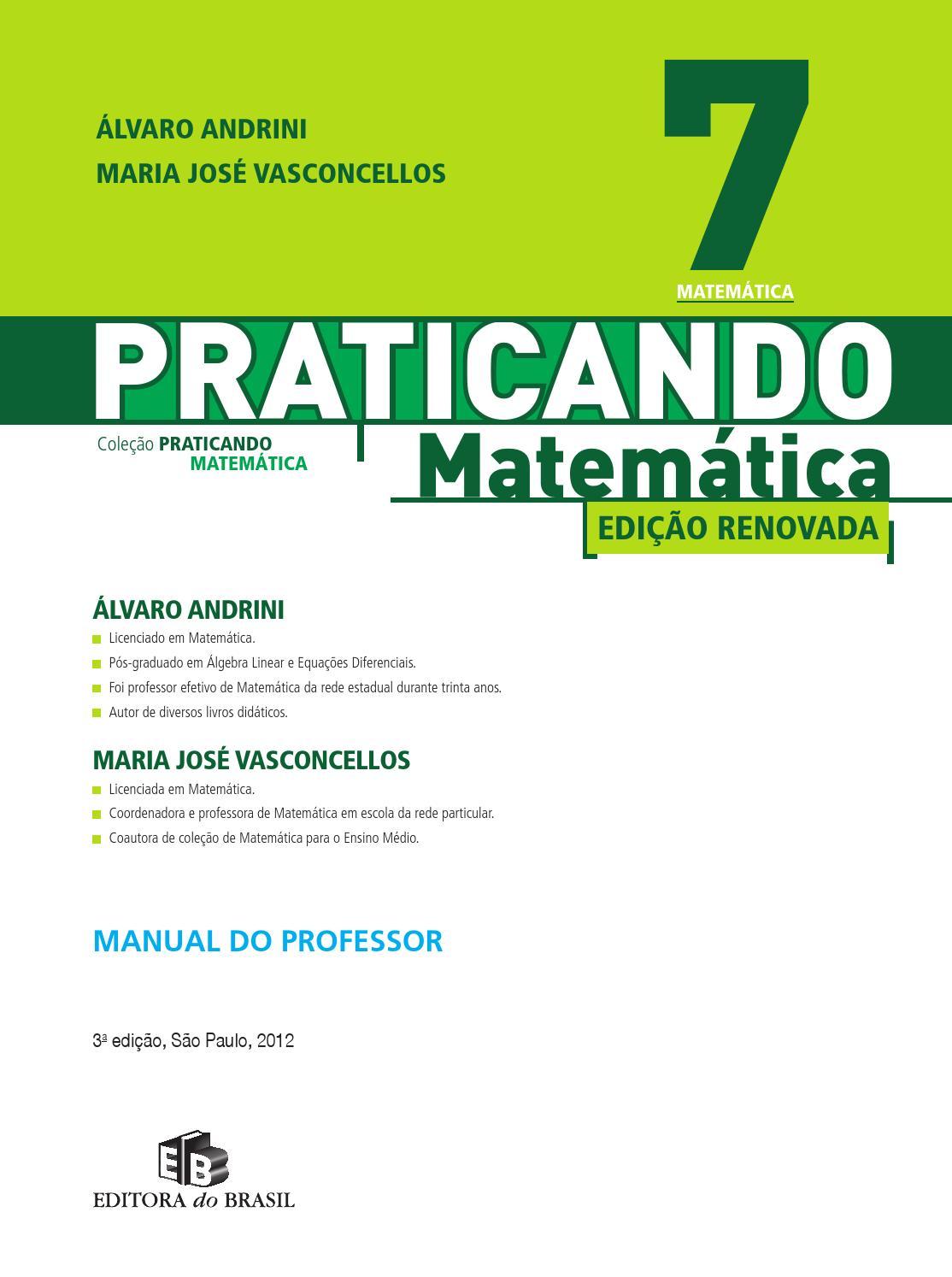 0c19ab811 Praticando matematica 7ºano by David Ribeiro - issuu