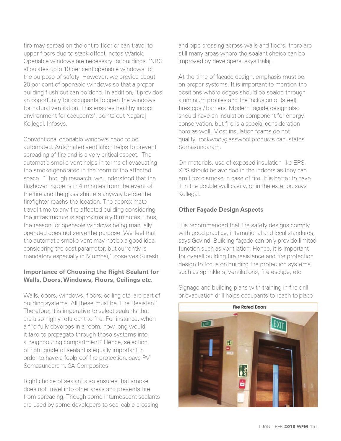 Window & Facade Magazine - January/February 2016 Issue by F & F