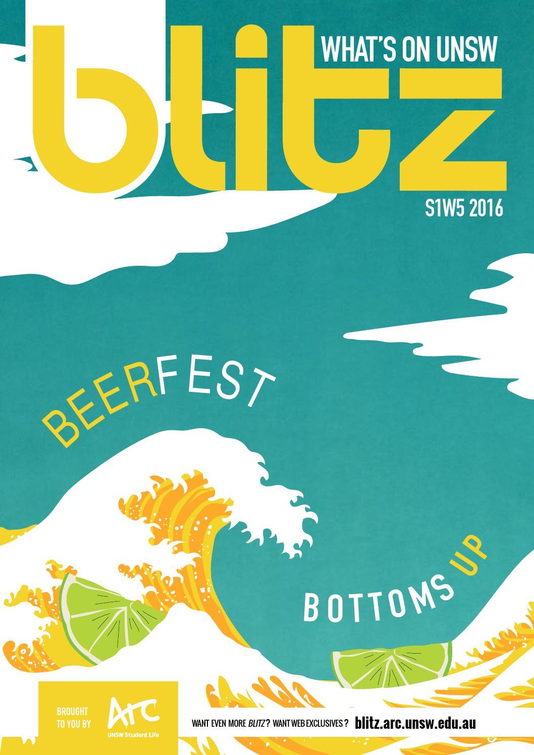 unsw blitz magazine 2016 issue 3 s1w5 by arc unsw issuu