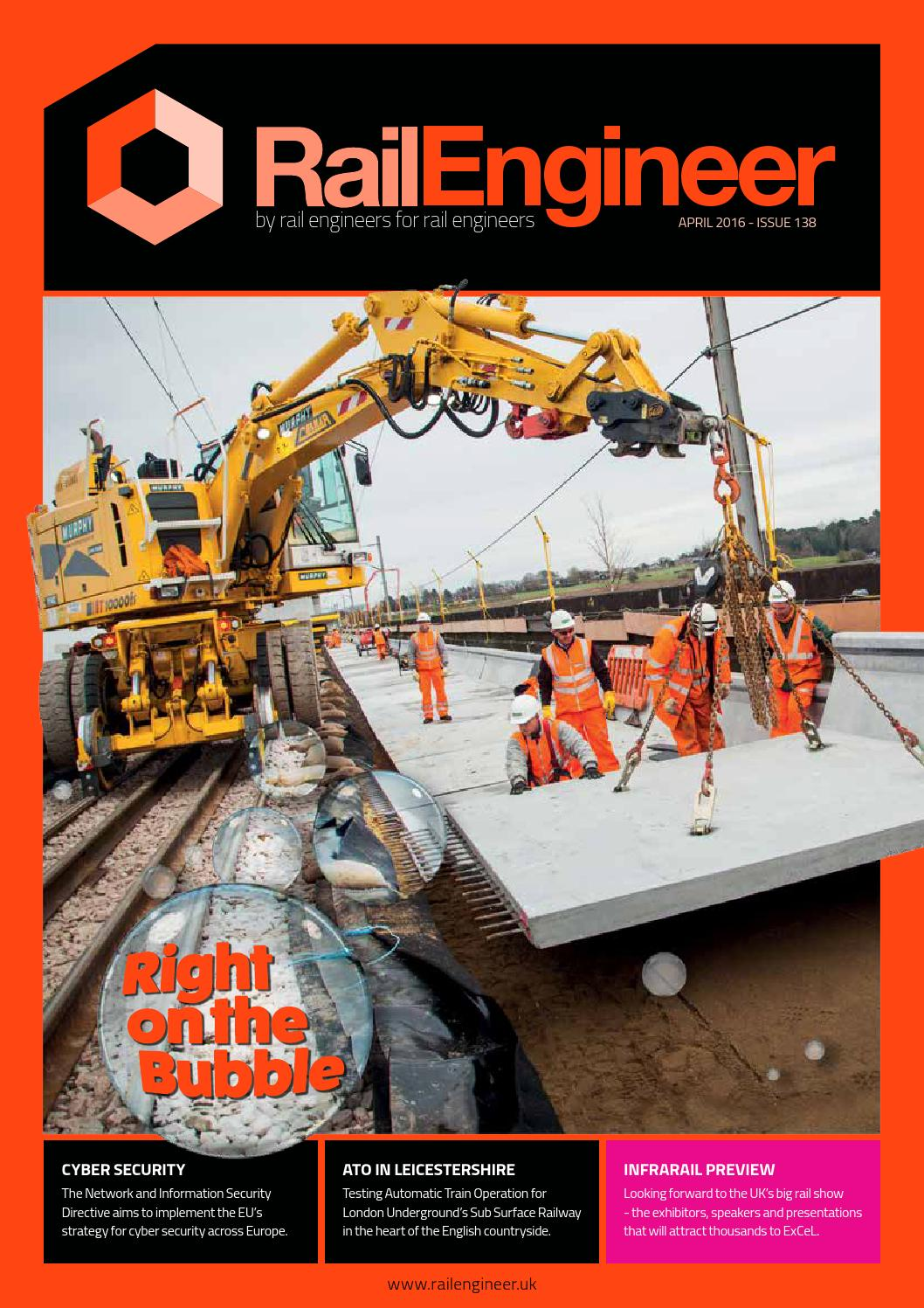 Rail Engineer Issue 138 April 2016 By Media Issuu Gt Speciality Test Equipment Automotive Circuit Voltage Tester