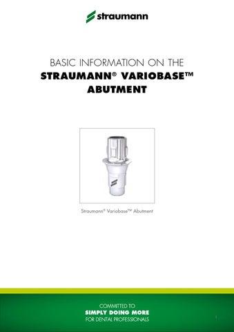 Variobase_step_by_step_en - Basic Information on the