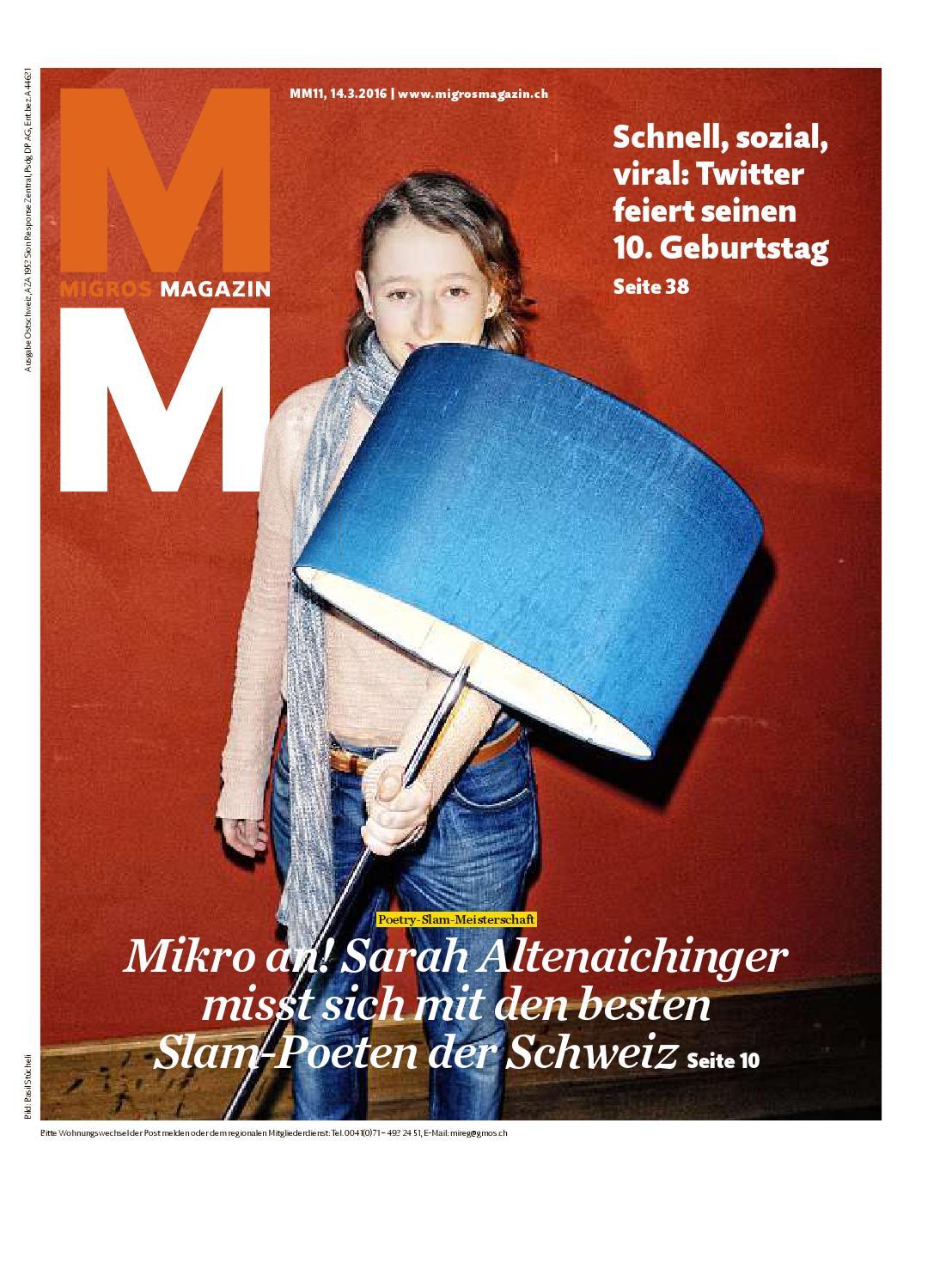 Migros magazin 11 2016 d os by Migros-Genossenschafts-Bund - issuu