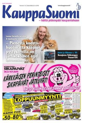 KauppaSuomi 14 2016 (K-P) by KauppaSuomi - issuu 3370580e25