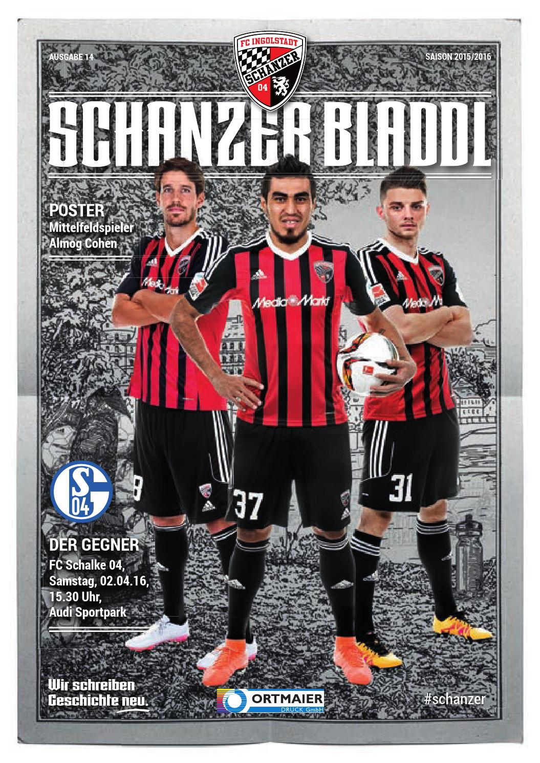 Autogrammkarte + + FC Schalke 04 30 Michael Gspurning Saison 2015//2016