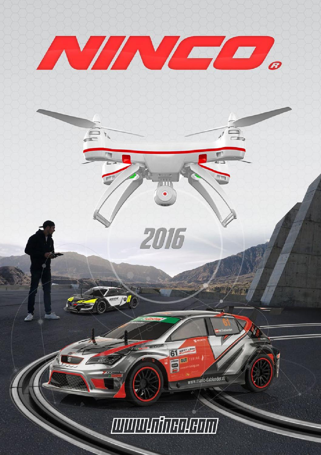 Ninco Catalog 2016 Eng By Official Issuu Tiny Rc Cars Transmitter And Charger Circuit 2 X Aa Cell 27mhz