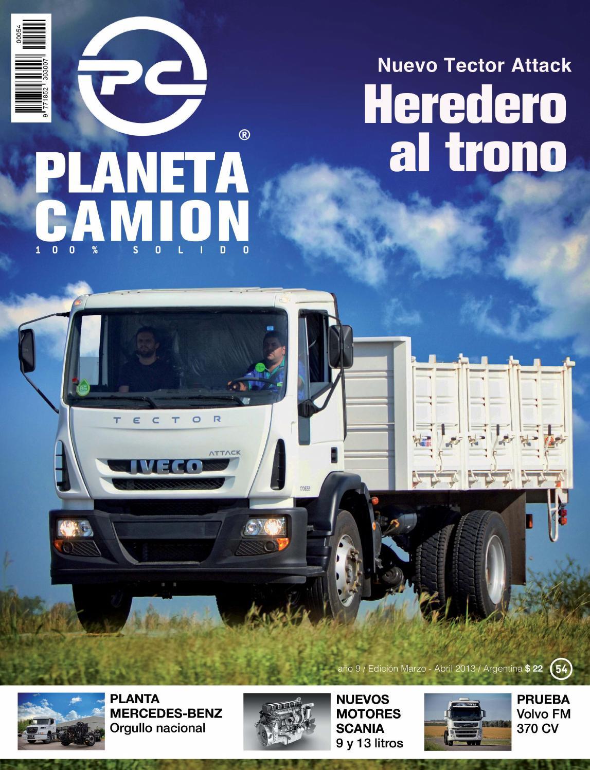 Planeta camión revista nº54 by Planeta Camión - issuu