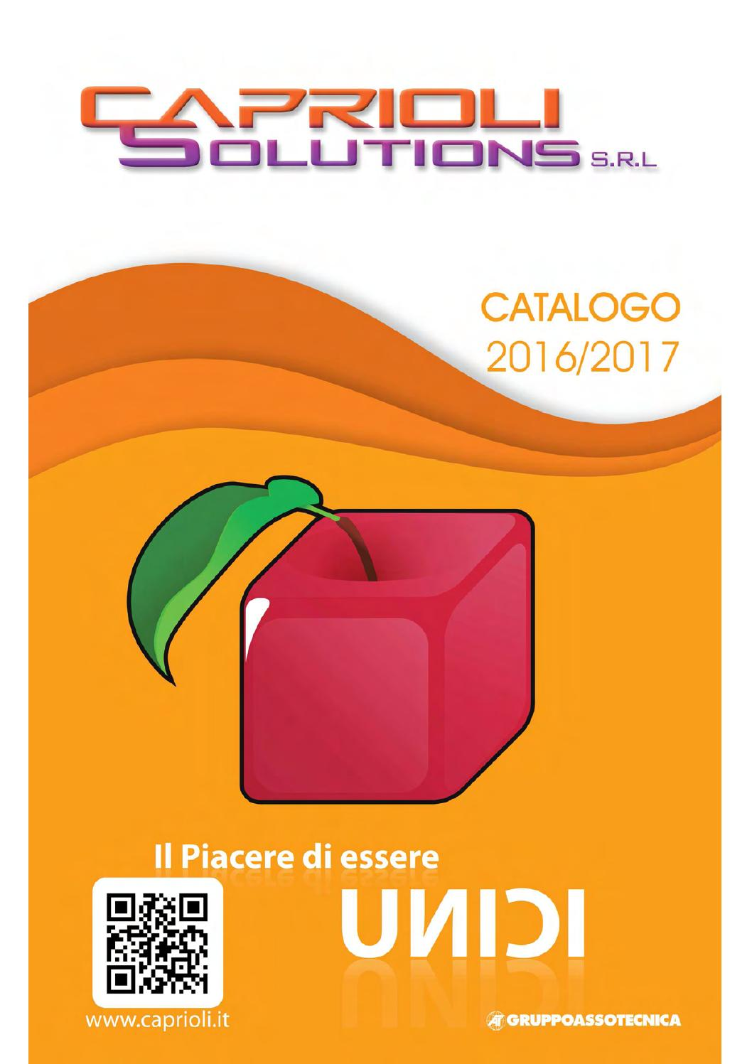 Catalogo 2016 1° parte by Caprioli Solutions Srl issuu