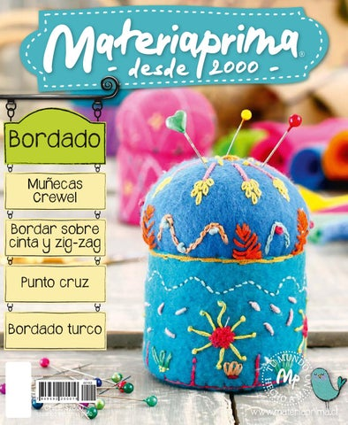 Revista Materiaprima 153, Bordado by Materia Prima - issuu