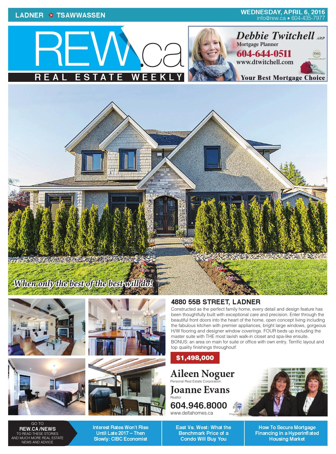 realtor and interior designer debbie evans realtor interior design consultant remax west LADNER - TSAWWASSEN Apr 6, 2016 Real Estate Weekly by Real Estate Weekly -  issuu
