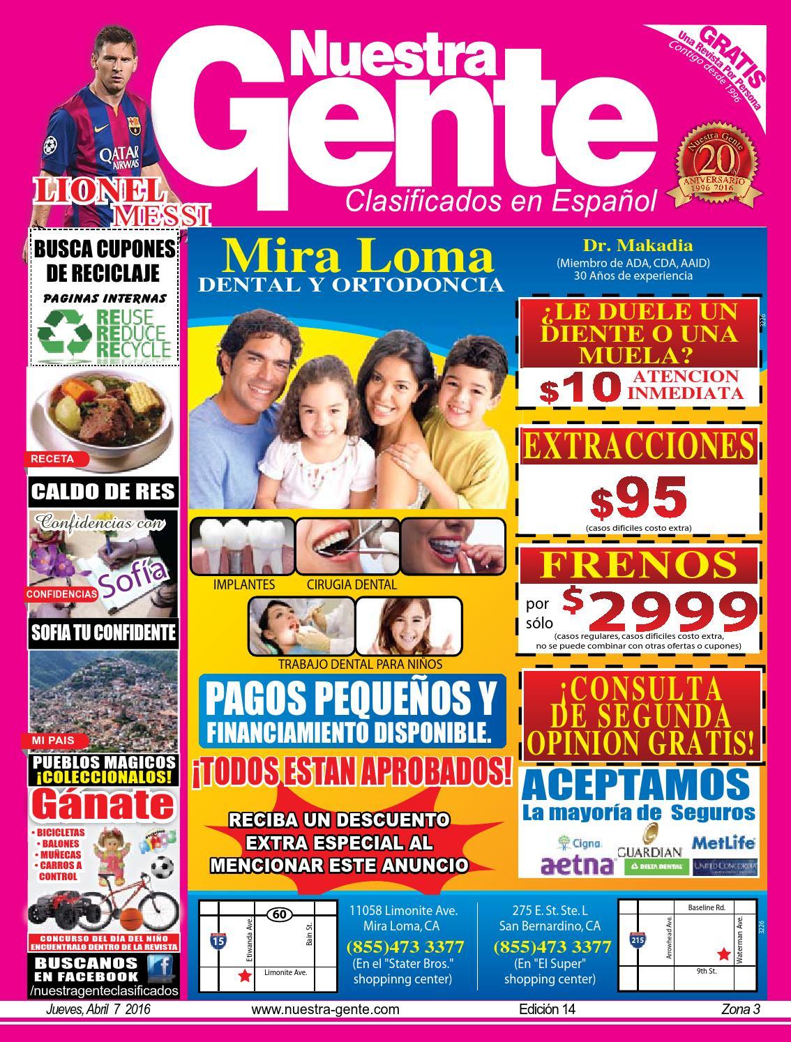 Nuestra Gente 2016 Edicion 14 Zona 3 by Nuestra Gente - issuu
