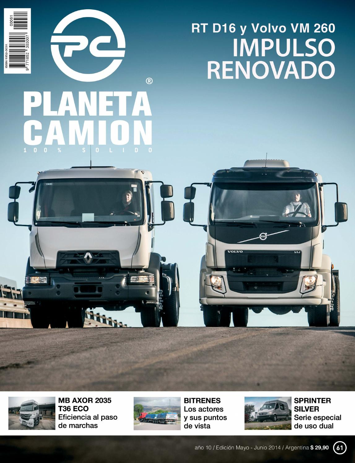 Planeta camión revista nº61 by Planeta Camión - issuu