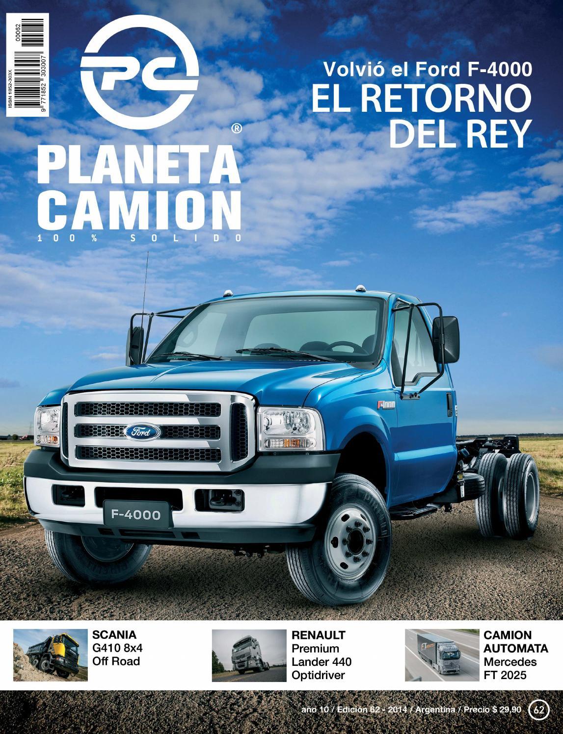 Planeta camión revista nº62 by Planeta Camión - issuu