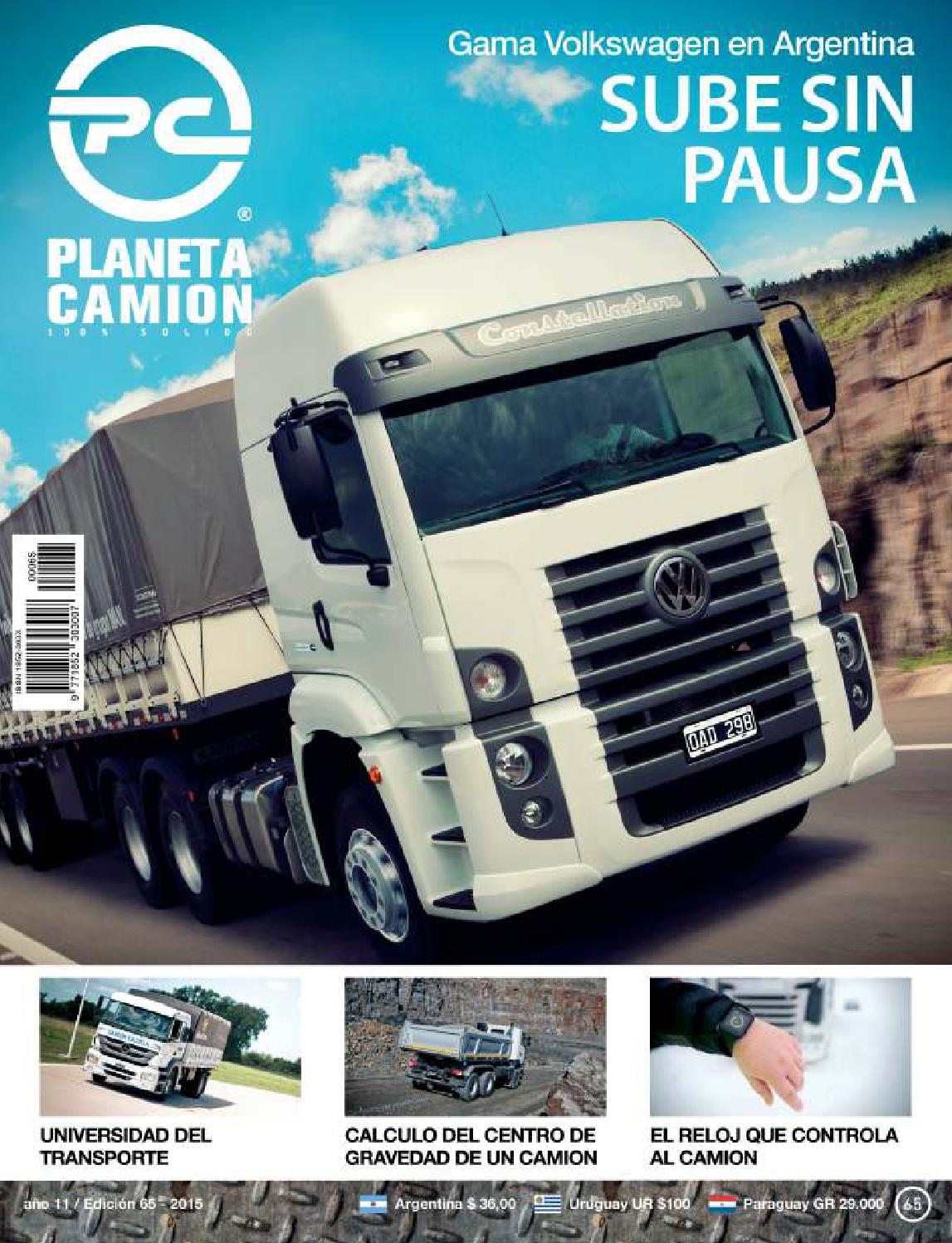 Planeta camión revista nº47 by Planeta Camión - issuu